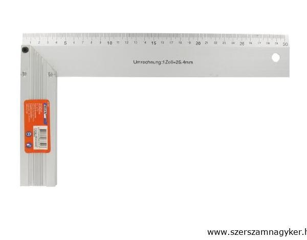 Derékszög 300mm alumínium Tüv/gs Kód:068301