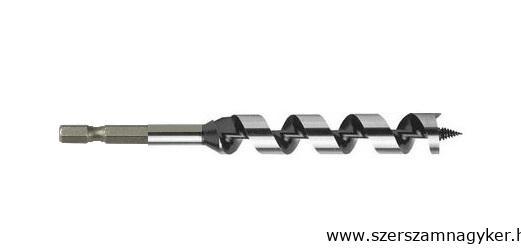 Fa spirálfúró 20×230mm hatszög befogatással Kód:42220