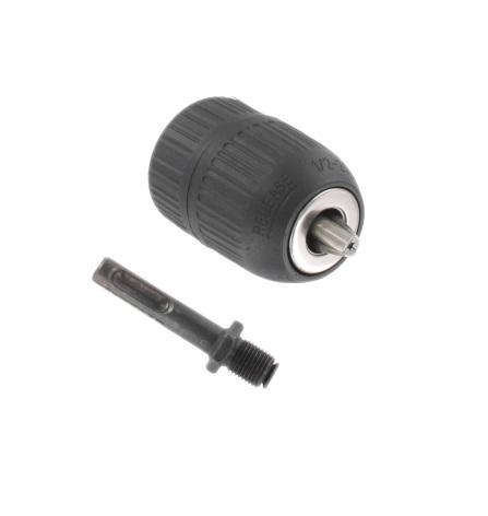 Tokmányfej 1,5-13mm gyors csatlakozású + SDS adapter Kód:041082
