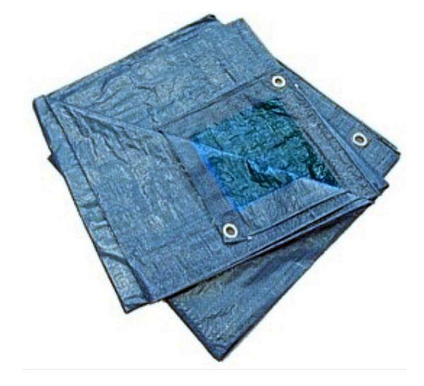 Ponyva vízhatlan  4×6m kék 75g/m2 Kód:285115