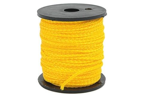 Kőműves zsinór VOREL  50m×1.7mm sárga Kód:217488