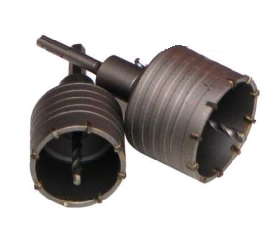 Dobozfúró készlet 2db 65/80mm SDS PLUS+HEX szár Kód:041052