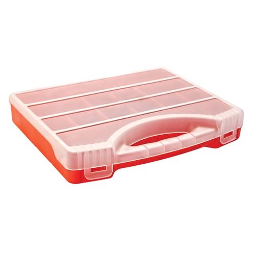 Szortiment tároló doboz műanyag 320×255×50mm Kód:35226